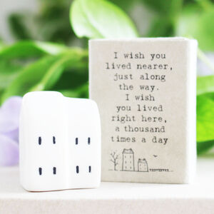 Wish You Lived Nearer Mini Message Token Gift