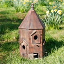 Personalised Wooden Chateau Bird House