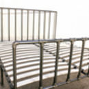 Georgina Industrial Super Kingsize Bed Frame