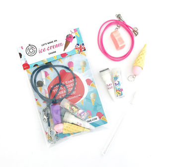 Ice Cream Themed Mini Jewellery Craft Kit