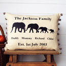 Happy Families Cushion