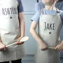 Personalised Kids Star Apron