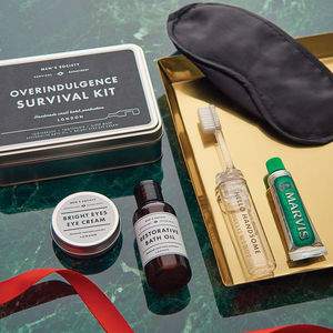 Overindulgence Survival Kit - last minute christmas gifts