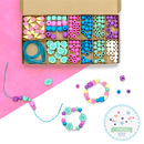 Personalised Seaside And Shells Bracelet Making Kit