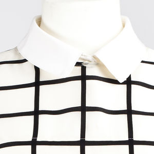 Crêpe De Chine Silk Collar - summer sale
