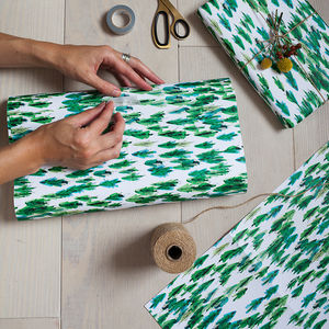 Luxury Tree Gift Wrap - wrapping paper