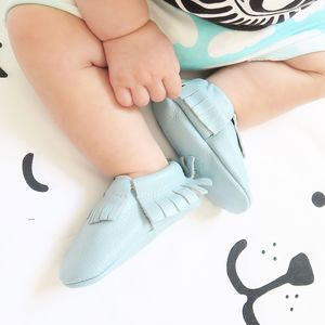 'Cutie Bluetootie' Baby And Toddler Moccasins - new baby gifts