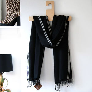 Monochrome Magic - scarves