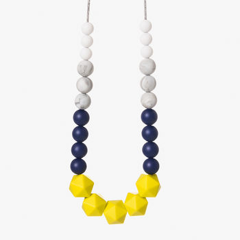 Starlit Night Teething Necklace