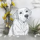 Dog Breed Portrait Ornaments