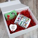 Valentine's Day Rainbow Gift Box With Added Treats