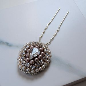 Constance Pear Drop Hair Pin - new in jewellery