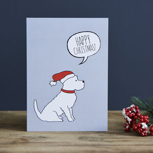 Pack Of Six Westie Christmas Cards - cards & wrap