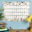 2021 Garden Birds Wall Calendar And Year Planner