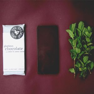 New Organic Mint And Camu Camu Chocolate