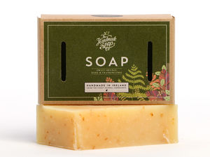 Sweet Orange, Basil And Frankincense Soap