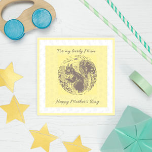 Mother's Day Spring Floral Card - shop by category
