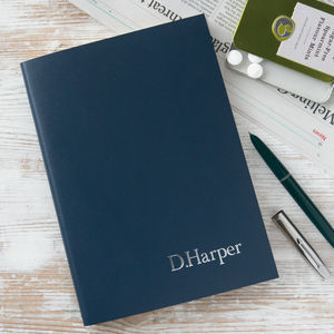 Personalised Notebook - diaries, stationery & books