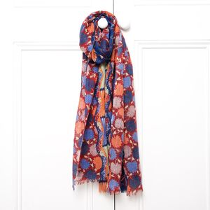 Folklorique Long Wool Scarf