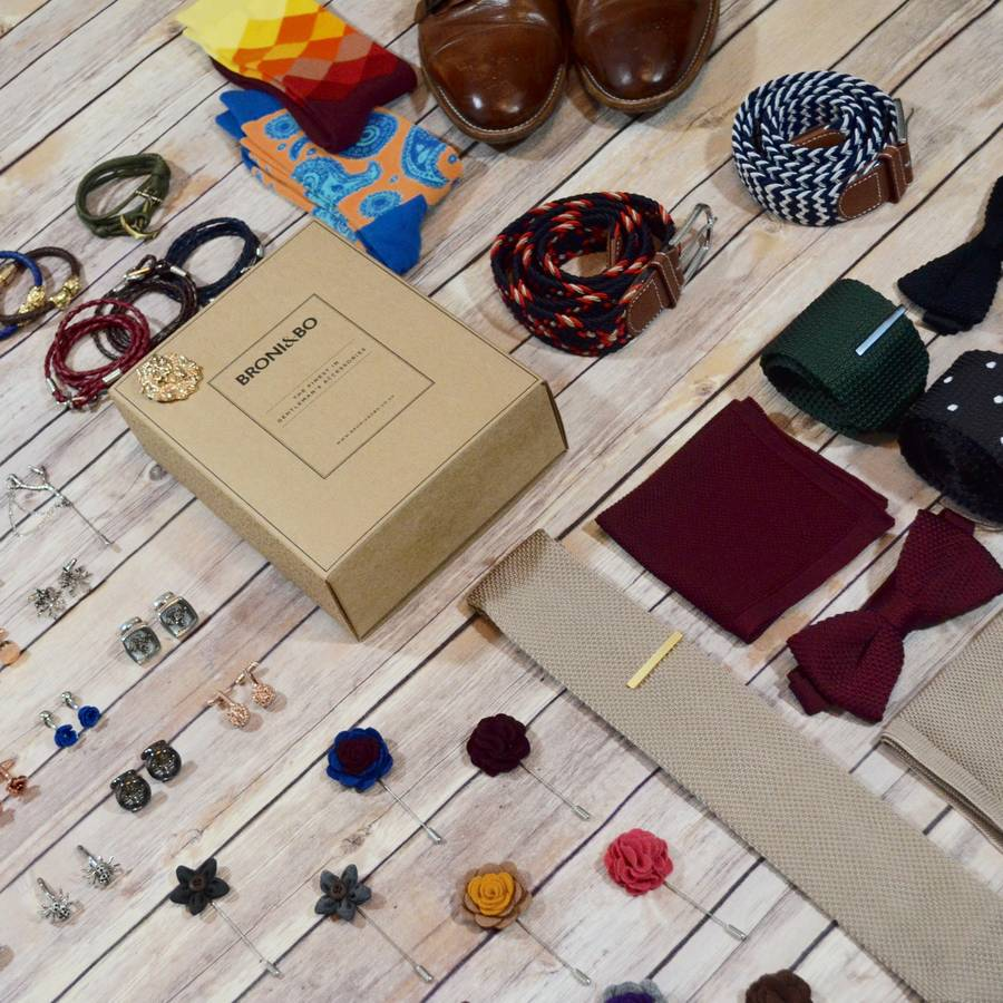 Men's Accessory Monthly Subscription Box