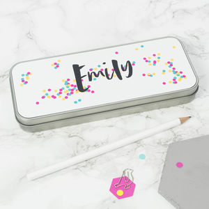 Personalised Happiness Pencil Tin - kitchen