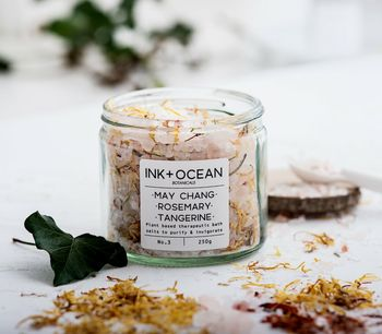 May Chang, Rosemary And Tangerine Bath Salts
