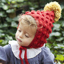 Baby And Child Rusty Red Pixie Hat