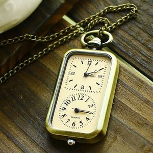 Vintage Style Double Watch Pendant Necklace - necklaces & pendants
