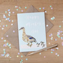 'Mother's Day' Duck Illustrated Greeting Card