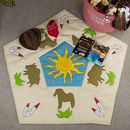 Children's Cowboy Themed Floor And Play Mat