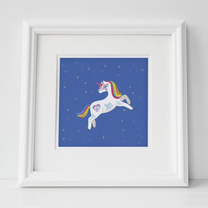 Sale Unicorn Print