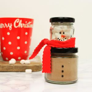 Hot Chocolate And Marshmallow Snowman - stocking fillers