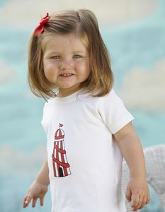 Helter Skelter Short Sleeve Baby Top