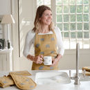 Elephant Apron And Mug Set