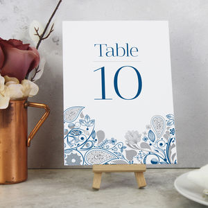 'Eden' On The Day Wedding Stationery - table numbers