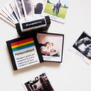 Personalised Mini Photo Print Boxed Memories Gift