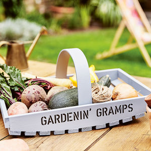 Personalised Garden Trug - gifts for fathers
