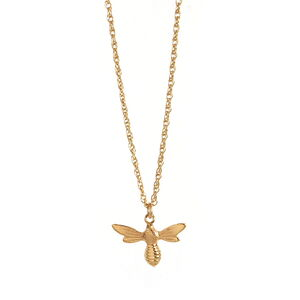 Little Lucky Charm Necklace Golden Bee