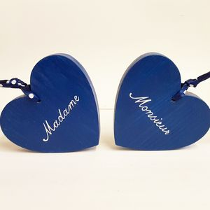 Madame And Monsieur Hearts - outdoor decorations