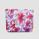Red Floral Toiletry Bag