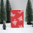 'Tree Print' Christmas Card