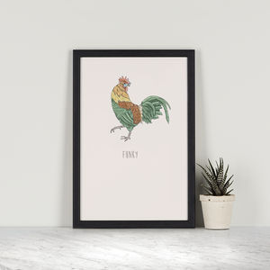 Funny – Cockerel - posters & prints