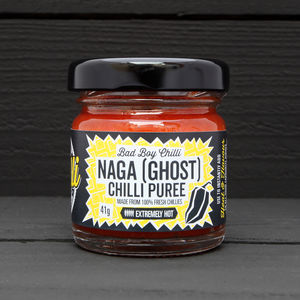 Naga Chilli Purée - spice-lover gifts