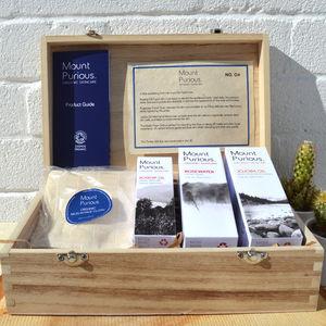 Organic Vegan Facial Skincare Gift Box | Mount Purious - gift sets