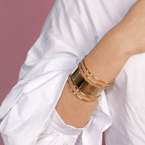 Multi Line Cuff - our favourite summer jewellery