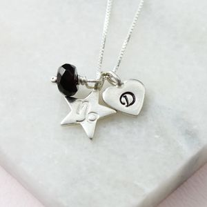 Personalised Zodiac Star Sign Necklace - necklaces & pendants