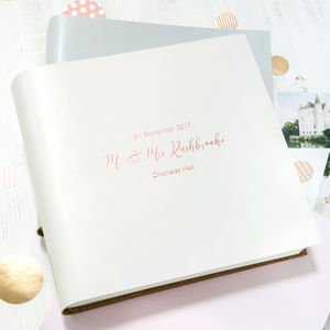 Wedding Album - albums & guest books