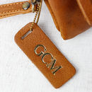 Antique Leather tag