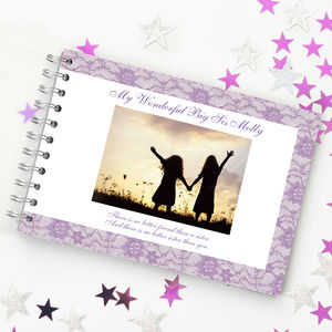 Personalised Sister Book - photo albums