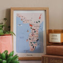 Florida Inky Illustrated Map